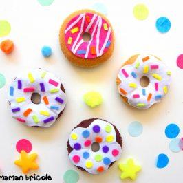 Donuts en feutrine