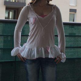 T-shirt froufrou