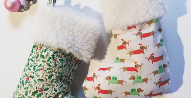 Tuto chaussons de Noël
