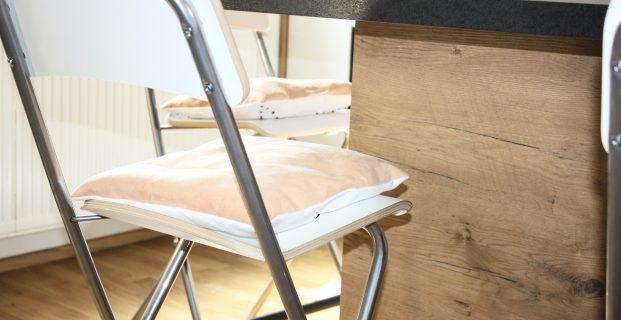 Coussin qui ne glisse pas pour assise de chaise