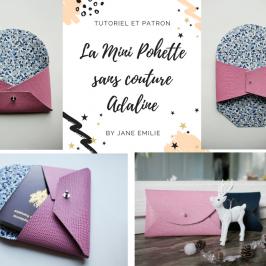 La Mini Pochette sans couture Adaline