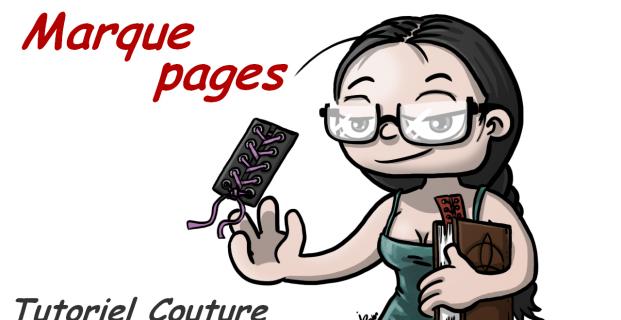 Tutoriel Marque-pages à lacets