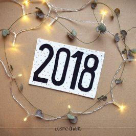 Carte de vœux en tissu