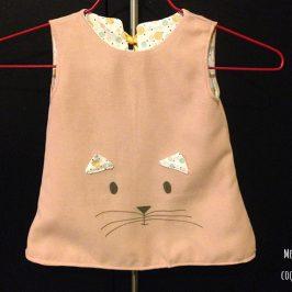 Robe trapèze réversible bébé