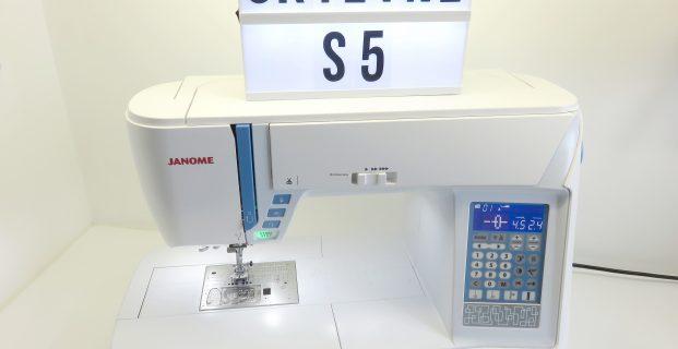 Skyline S5 Janome : Apprendre à s'en servir