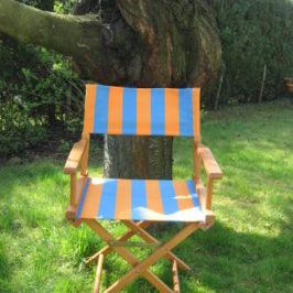 Retaper un fauteuil metteur en scène