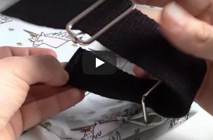 Installer une boucle de réglage sur une bretelle de sac à dos