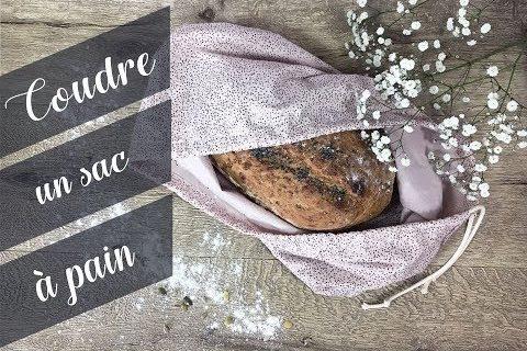 Coudre un sac à pain
