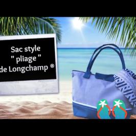 Sac style «Pliage de Longchamp»