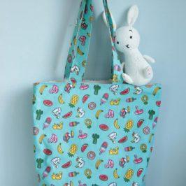 Coudre un tote bag (ou un sac de plage) niveau débutant