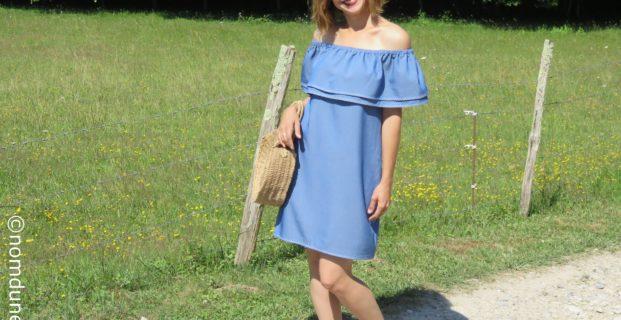 Comment coudre une robe Bardot ?