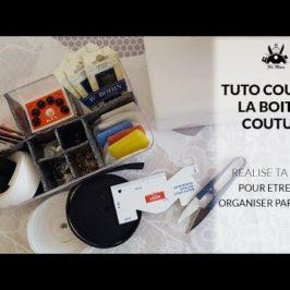 Crée ta boite de couture