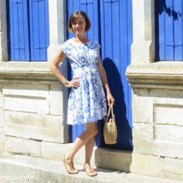 Robe Andria – Comment descendre l'encolure ?