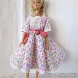 Robe sixties pour barbie