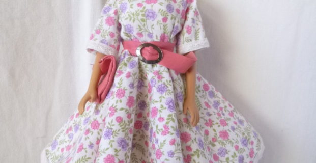 Robe sixties pour barbie