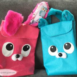 le sac à goûter mignon (chat, ours, lapin…)