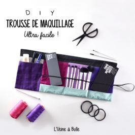 Trousse de maquillage ultra facile