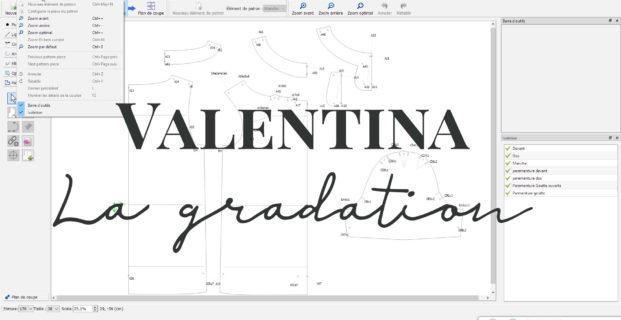Valentina : La gradation