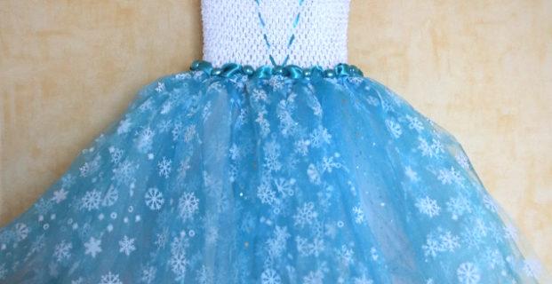 Robe de princesse Reine des Neiges (pas à pas)
