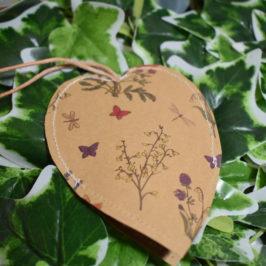 Etui à clefs en forme de coeur