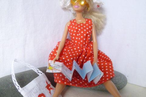 Robe d'été à bretelles Barbie