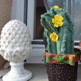 Cale-porte cactus western