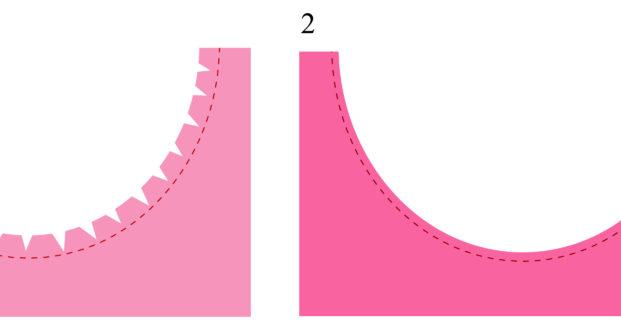 Comment coudre des angles, des courbes, des V