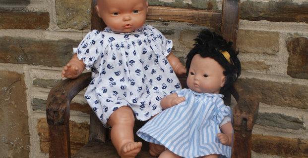 Robe de poupée années 40