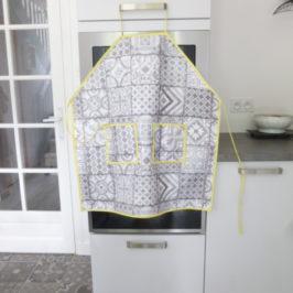 Tablier de cuisine en toile cirée