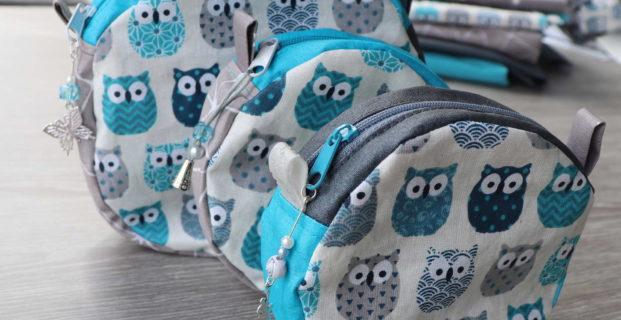 Petite trousse ou petit sac rond (e)