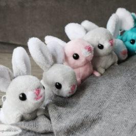 Doudou mini lapin