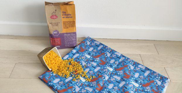 Emballage beeWrap – la cire d'abeille