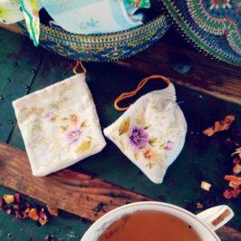Sachets de thé lavables