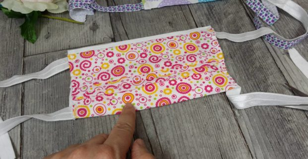 Masque 1ère barrière tissu et papier absorbant
