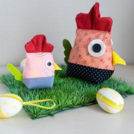 Poulette Suzette décoration de Pâques