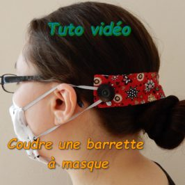 Barrette pour masque