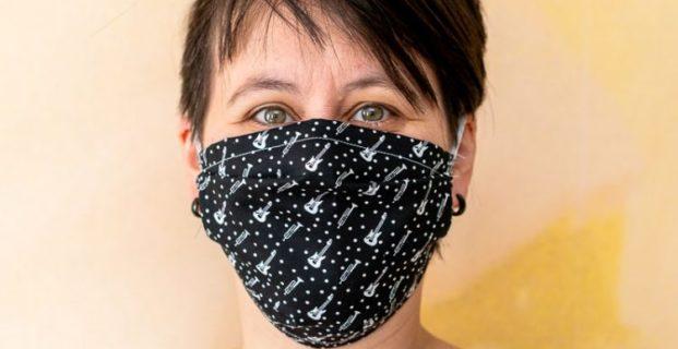 Masque en tissu modèle AFNOR