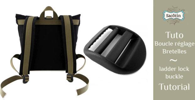 Boucle de réglage sac à dos