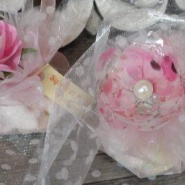 Sachets dragées en forme de fleur