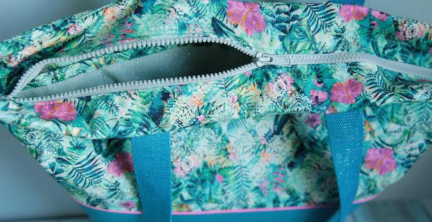 Ajouter une fermeture éclair sur le haut d'un sac
