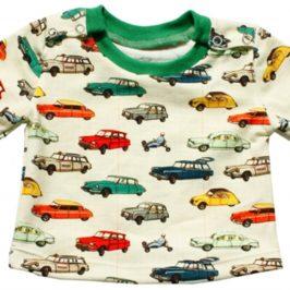T-shirt à boutons-pression sur les côtés pour bébé