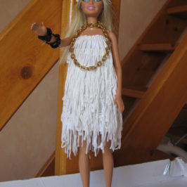 Robe charleston Barbie