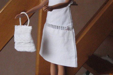 Robe trapèze Barbie