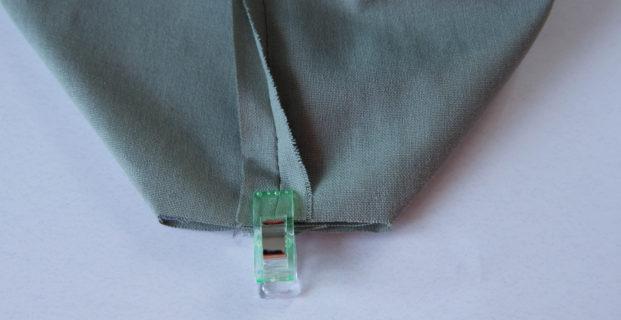 Fermer les angles du fond d'un accessoire
