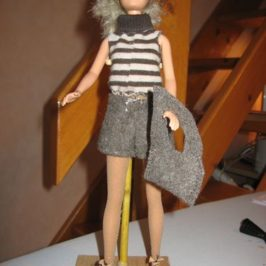 Short pull bottines pour Barbie