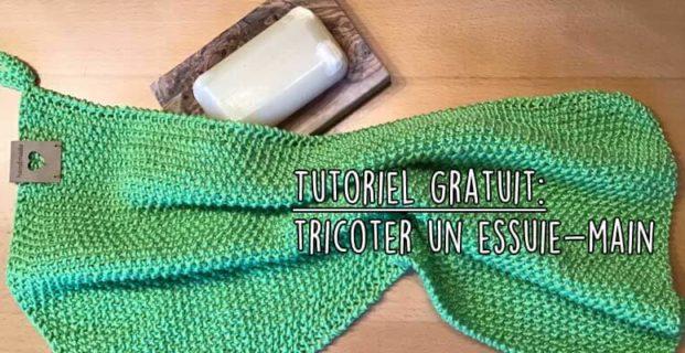 Tricoter un essuie-main