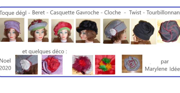 Bonnets, Toques et Chapeaux