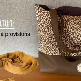 Coudre un sac à provisions