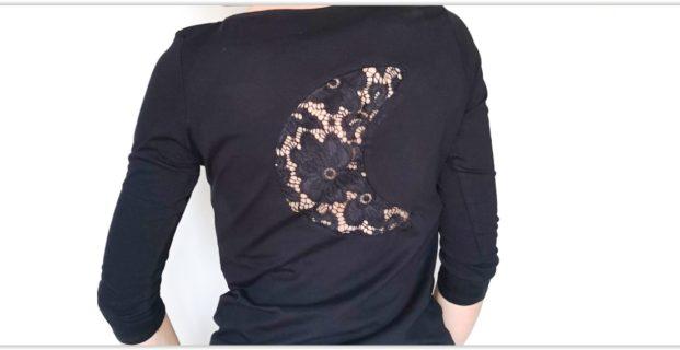 Customiser un t-shirt avec de la dentelle