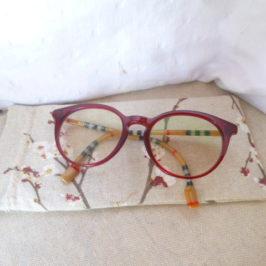 Etui à lunettes cliquet récup'